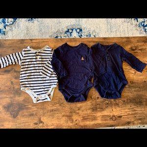 GAP baby bodysuits